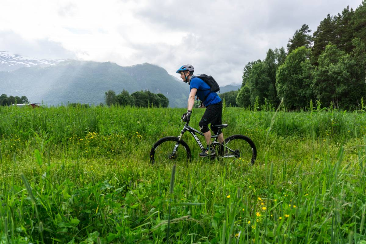 Gloppen Aktiv Guided mountain bike tours