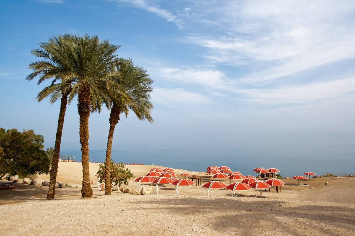 SANDEMANs NEW Tel Aviv Tours Masada Sunrise, Ein Gedi & Dead Sea Tour from Tel Aviv