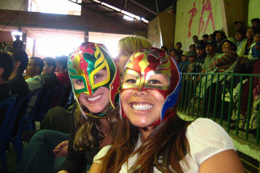 Red Cap City Walking Tours Cholita Lucha Libre