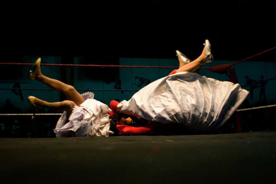 Red Cap Cholita Wrestling