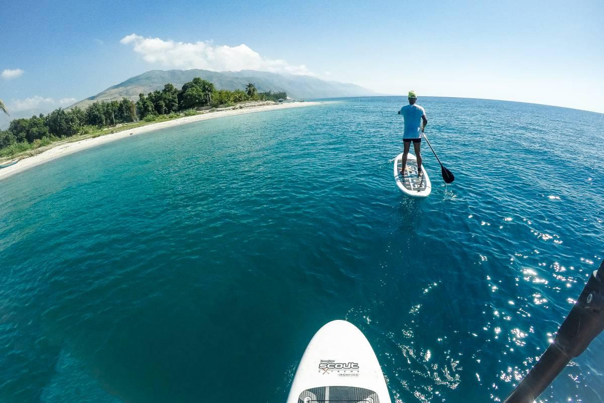Marina Blue Haiti Tour de Paddle Board