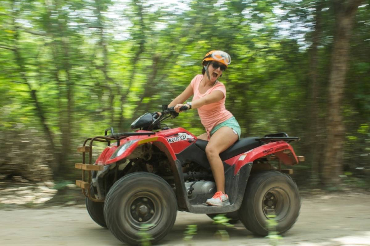 Cancun Vacation Experts ATV Y AVENTURA EN LA JUNGLA
