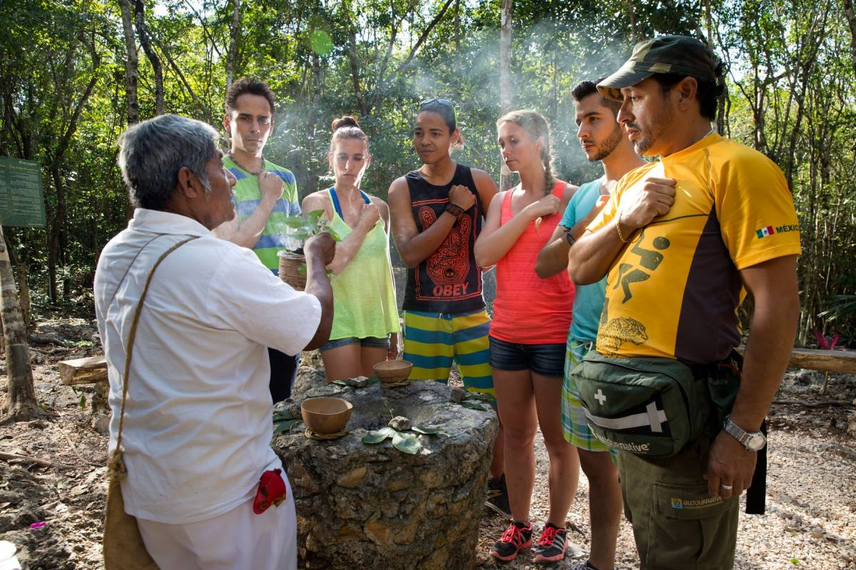 Cancun Vacation Experts COBA MAYAN ENCOUNTER