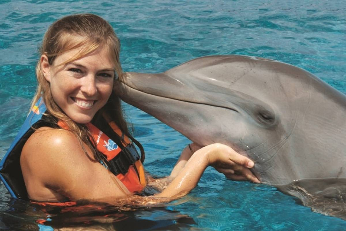 Cancun Vacation Experts ENCOUNTER WITH DOLPHINS