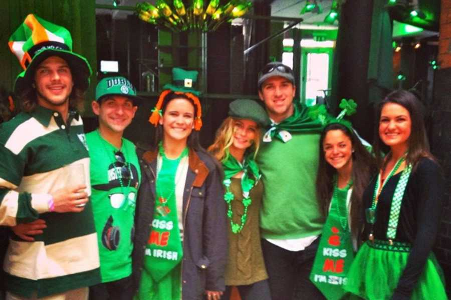 Bus2Alps AG Ireland St. Patrick's Day