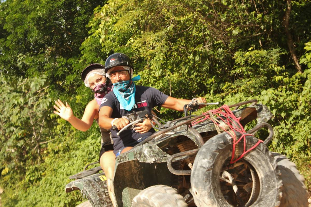 Cancun Vacation Experts ATV'S AND CAVERN EXPLORATION