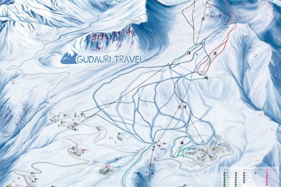 Adventurati Outdoors Ski Tour - Georgia