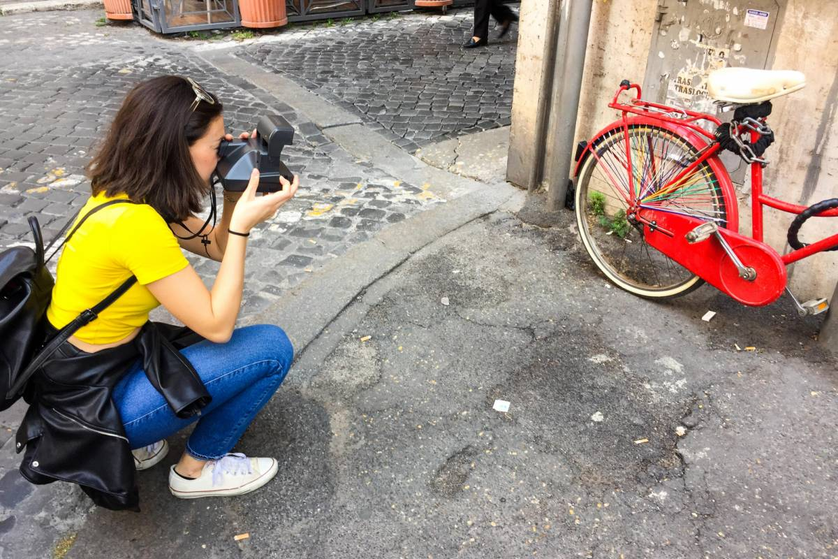 Sophort Polaroid Photo Tour Rome - Classic