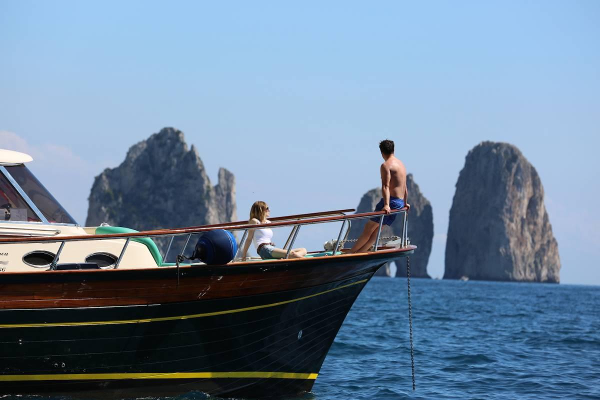 Travel etc Capri and Positano private boat tour