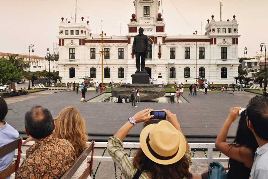 Tours y Tickets Operador Turístico Recorrido Centro Histórico de Veracruz en Tranvía