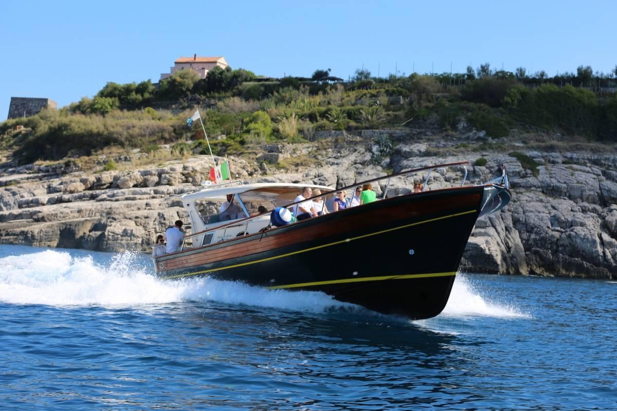 Travel etc Tour privato in barca della Costiera Amalfitana