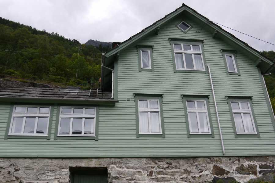 Stana Gard Grønt hus på Stana Gard