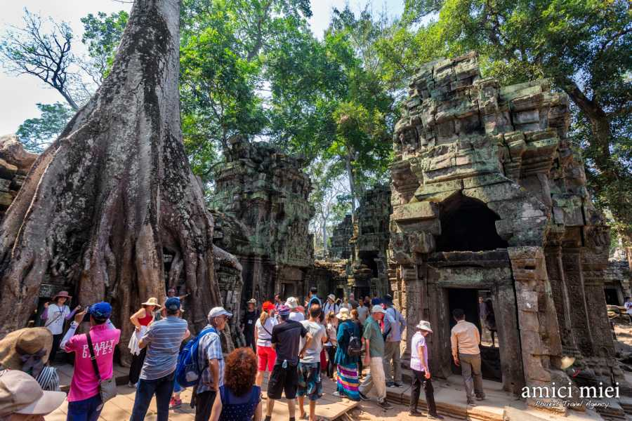 AMICI MIEI PHUKET TRAVEL AGENCY FROM BANGKOK TO THE MYTHICAL ANGKOR WAT - 3/4 DAYS TOUR (AMC01)