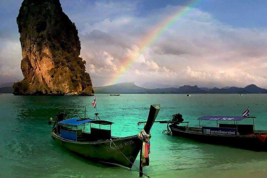 AMICI MIEI PHUKET TRAVEL AGENCY DAY TRIP PHI PHI, MAYA , BAMBOO ISLAND WITH SPEEDBOAT FROM PHUKET AM020