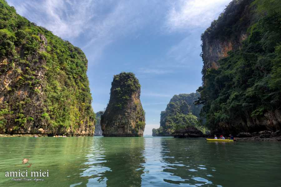 AMICI MIEI PHUKET TRAVEL AGENCY JAMES BOND ISLAND TOUR &  NATURE CANOE BY SPEEDBOAT AM170