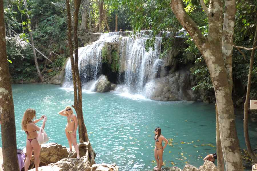 AMICI MIEI PHUKET TRAVEL AGENCY ONE DAY KANCHANABURI: RIVER KWAI, NATURE AND WATERFALL AM039