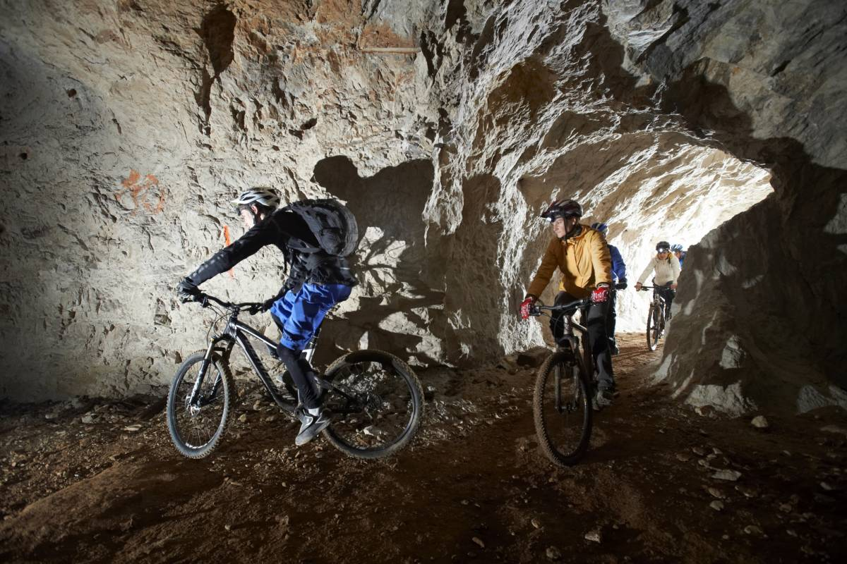 Nature Trips Slovenia- Underground Biking - Mine Tour by Bike