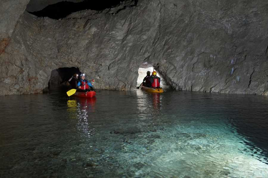 Nature Trips Slovenia - Underground Kayaking - Mine Tour by Kayak