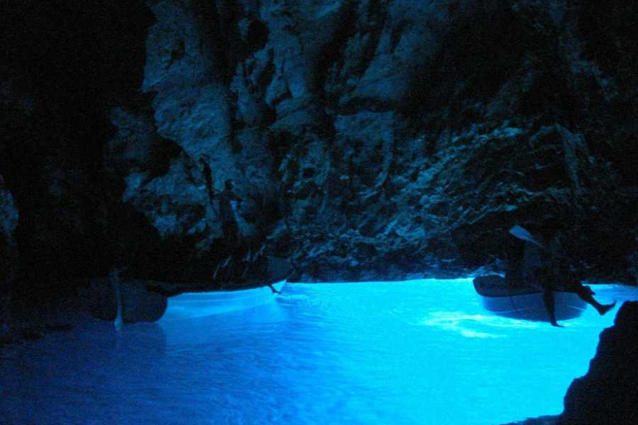 "Travel Agency"" South Tours"" Blue Cave and the island of Hvar from Split and Trogir"