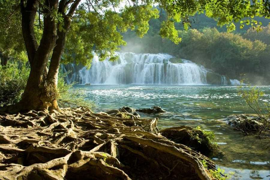 "Travel Agency"" South Tours"" Exclusive trip to the Krka Waterfalls and Wine tasting from Split and Trogir"