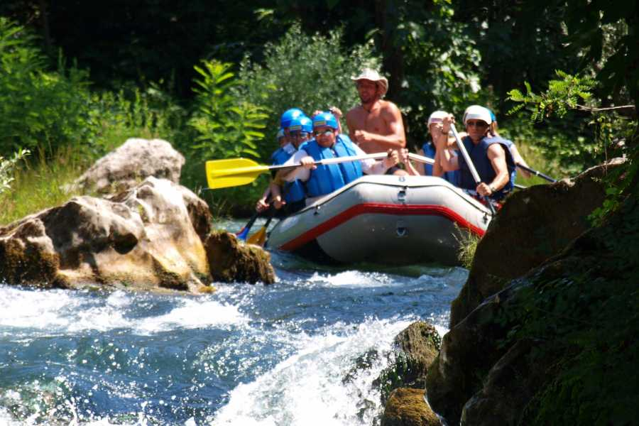 """Travel Agency"""" South Tours"""" Canyoning river Cetina from Split and Trogir"""