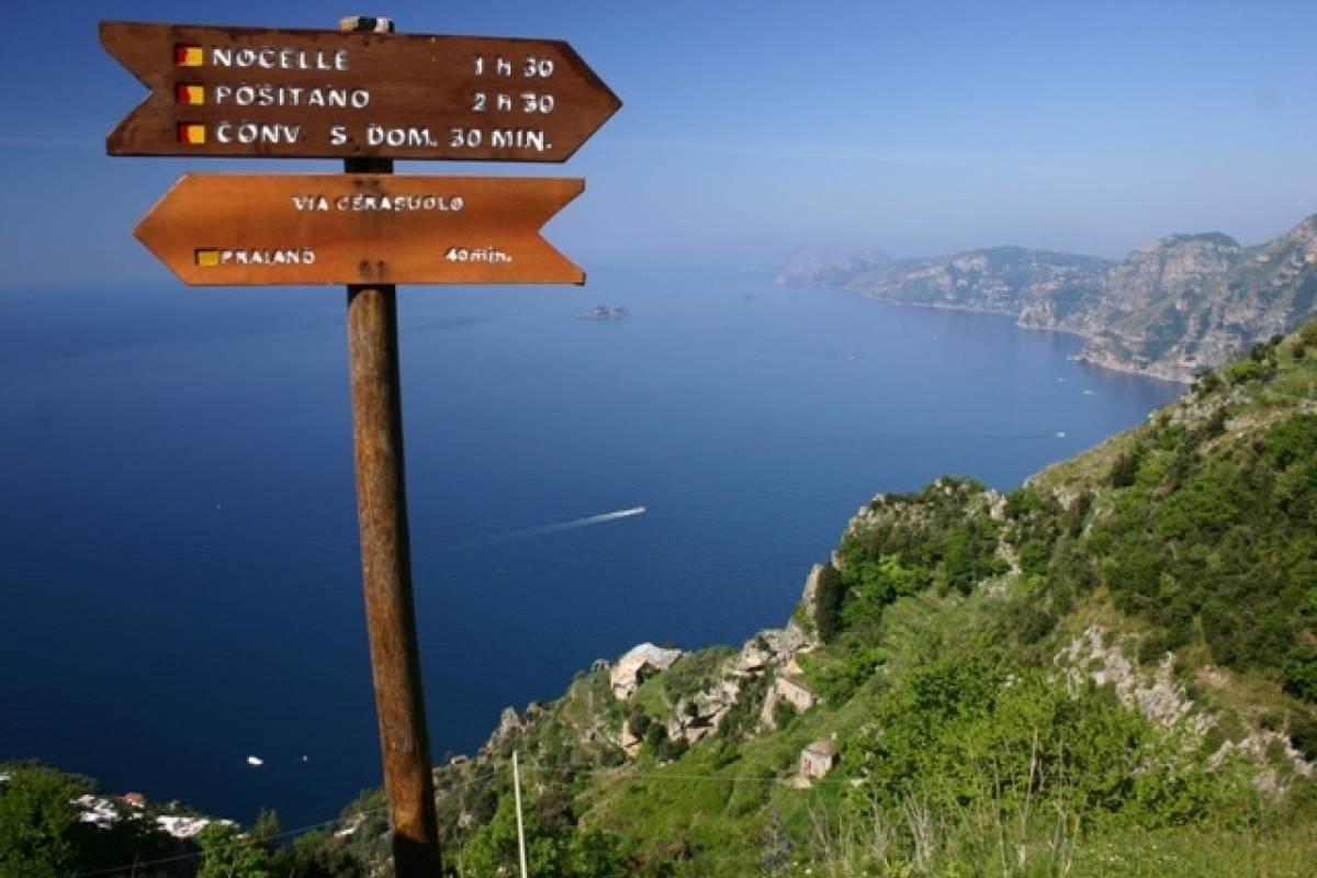 Travel etc Path of the Gods from Sorrento