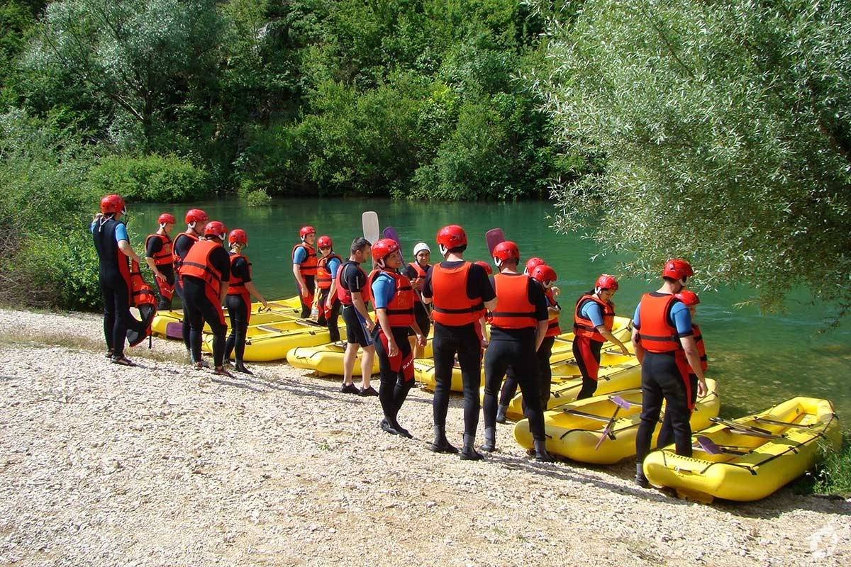 Sugaman Tours Rafting Tour from Omis