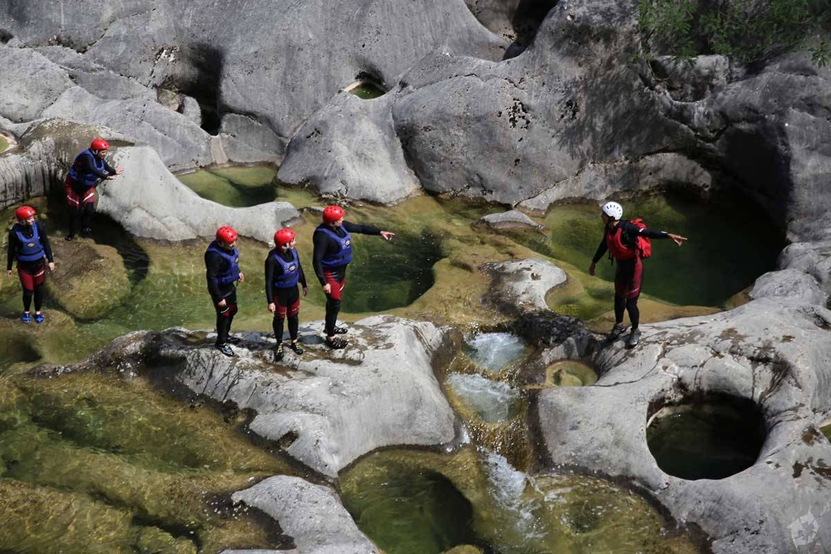 Sugaman Tours Canyoning tour from Omis