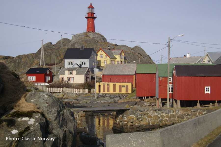 Travel like the locals (Møre og Romsdal) Round trip to Ona island in the Atlantic Ocean