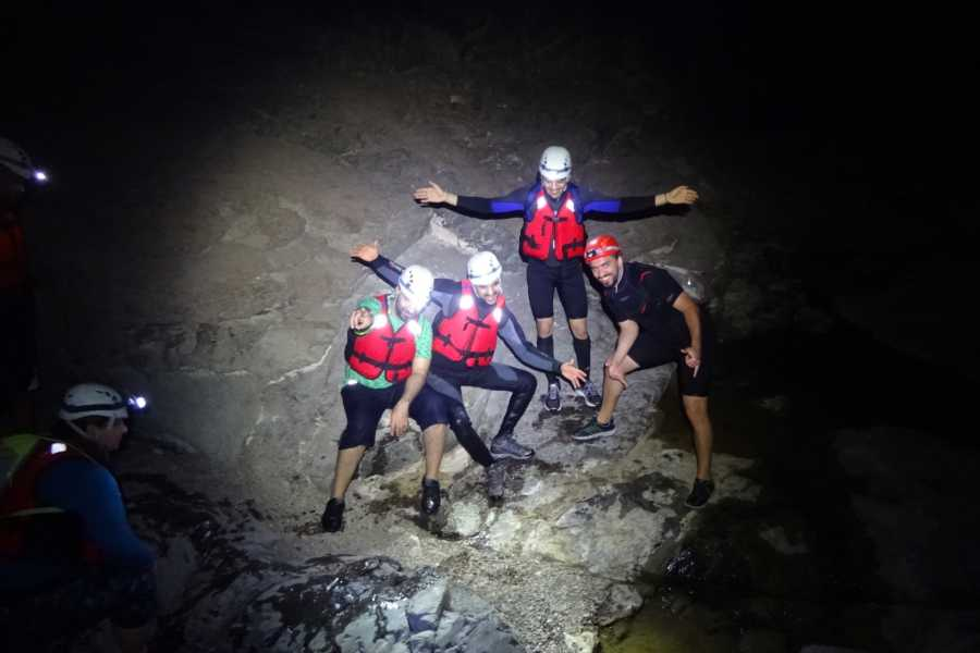 Adventurati Outdoors Night Canyoning in Showka