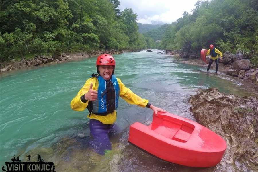 Visit Konjic Hydrospeed Neretva river
