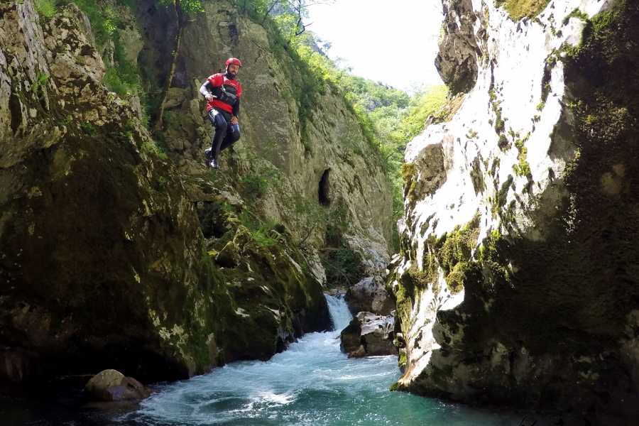 Visit Konjic Canyoning tour on the Rakitnica river