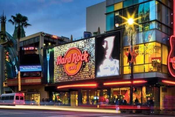 (H2) Hollywood Walk of Fame + Hard Rock Café Meal Voucher + Round Trip Transfer