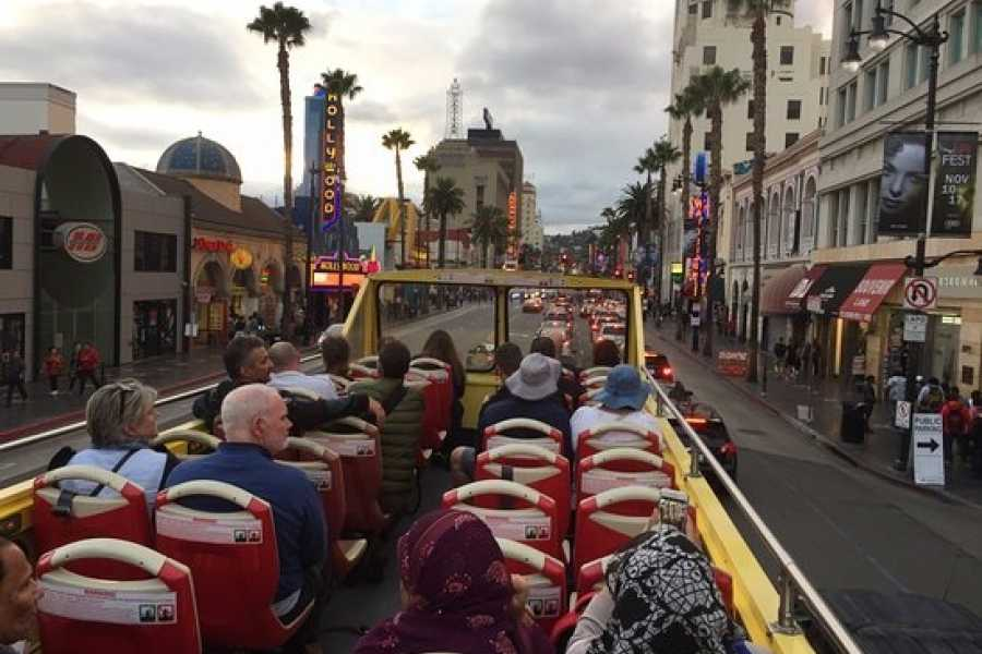 Dream Vacation Builders (H5) Hollywood Walk of Fame + Hop on Hop Off 24 PASS From Anaheim/Orange County Tour #2B