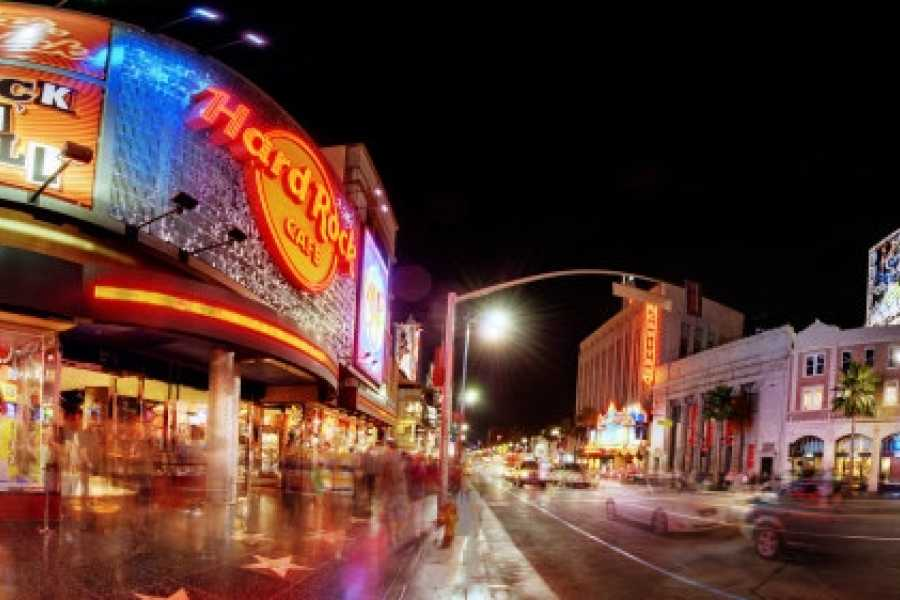 Dream Vacation Builders Hollywood Walk of Fame + Hop on Hop Off 24 PASS From Anaheim/Orange County Tour #2B