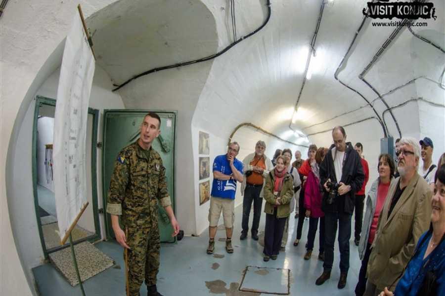 Visit Konjic Tito's bunker