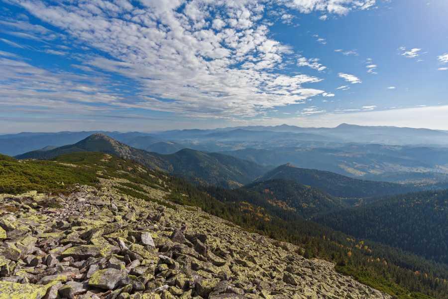 Wild-Trails Trekking in Ukraine - Gorgany Mountains