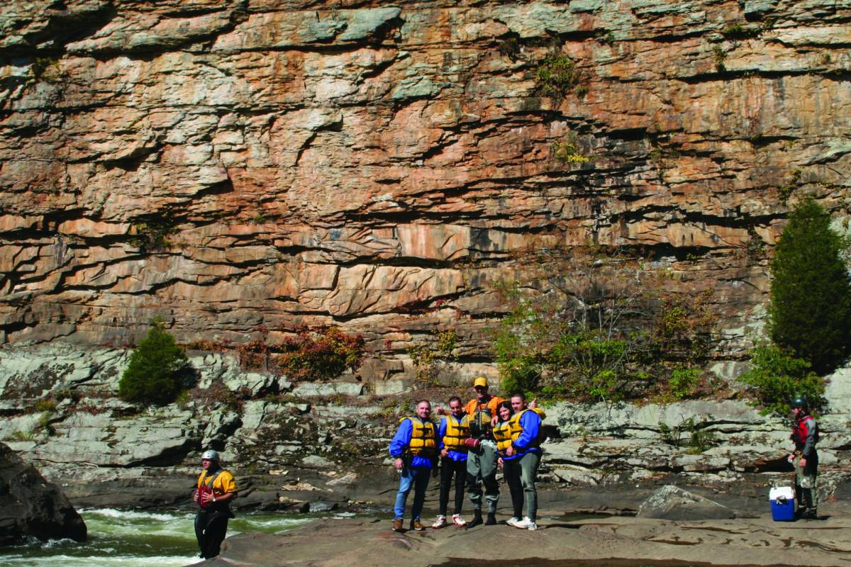 West Virginia Adventures Lower Gauley Day Trip, Class III/IV (Fall)