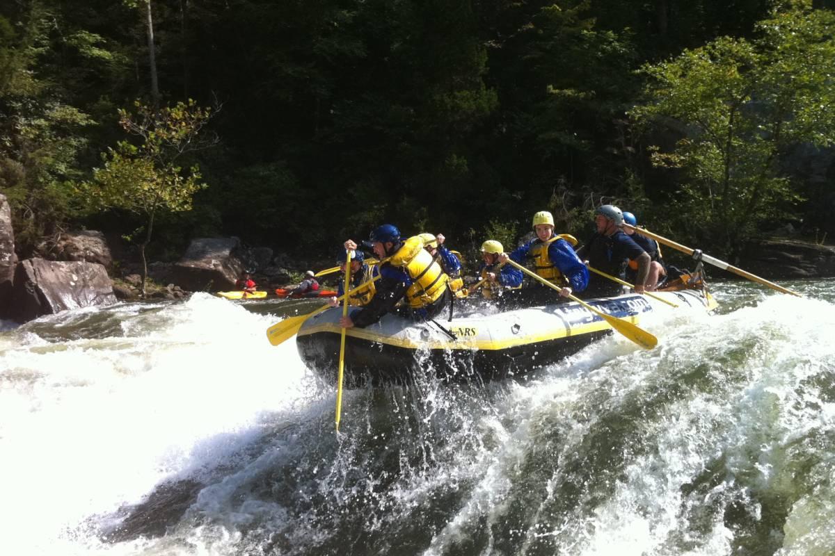 West Virginia Adventures Gauley Marathon, Class V (Fall)
