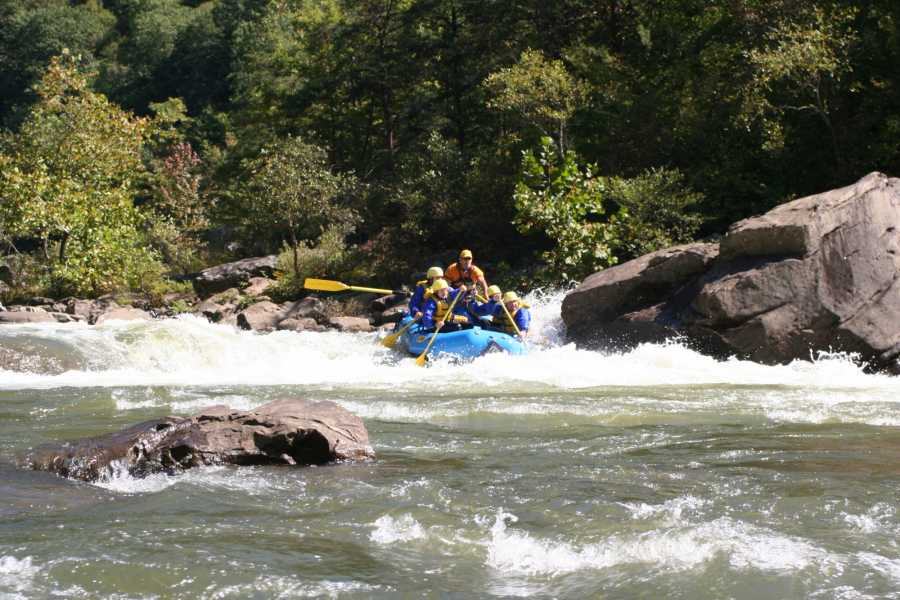 West Virginia Adventures Gauley Marathon, Class V (Fall)
