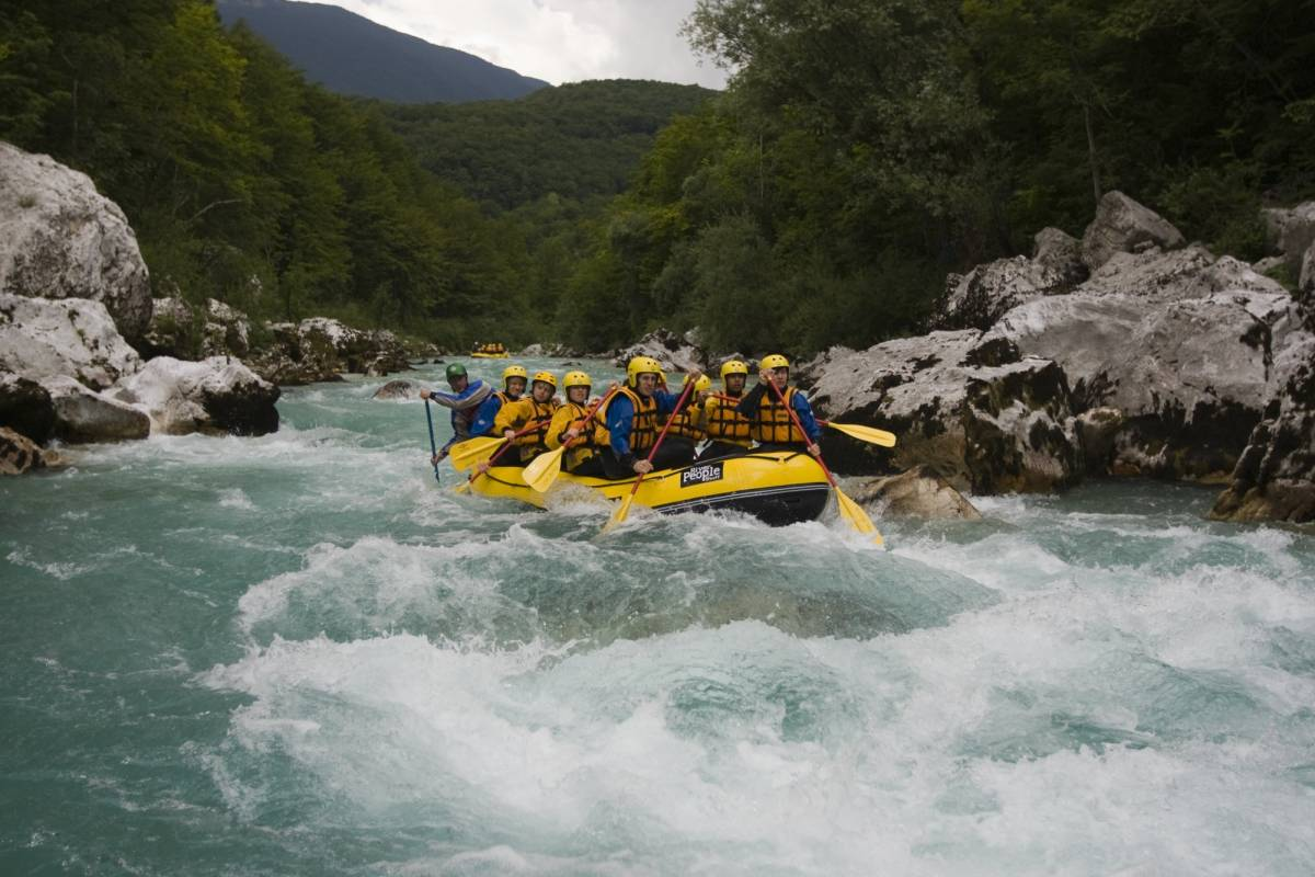 Ride around Soča adrenalin