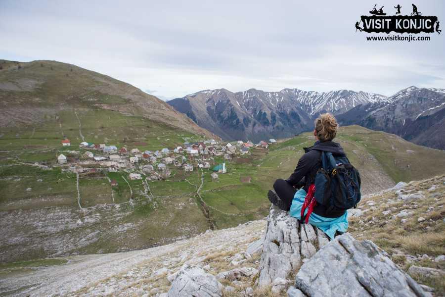 Visit Konjic Hiking Lukomir