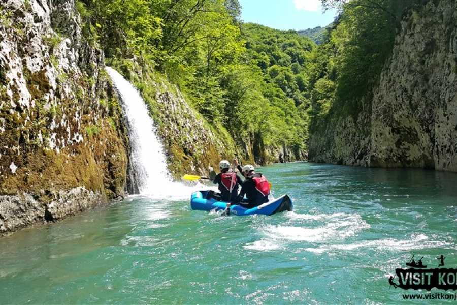 Visit Konjic Canoeing tour on the Neretva river