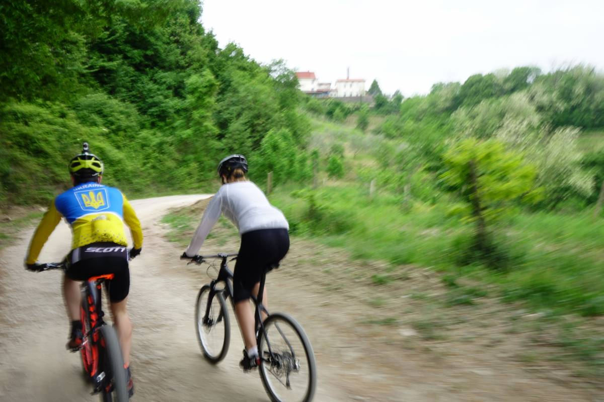 Ride around Collio in bicicletta
