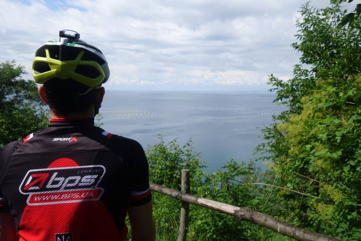 Ride around Slovenian coastline by bike