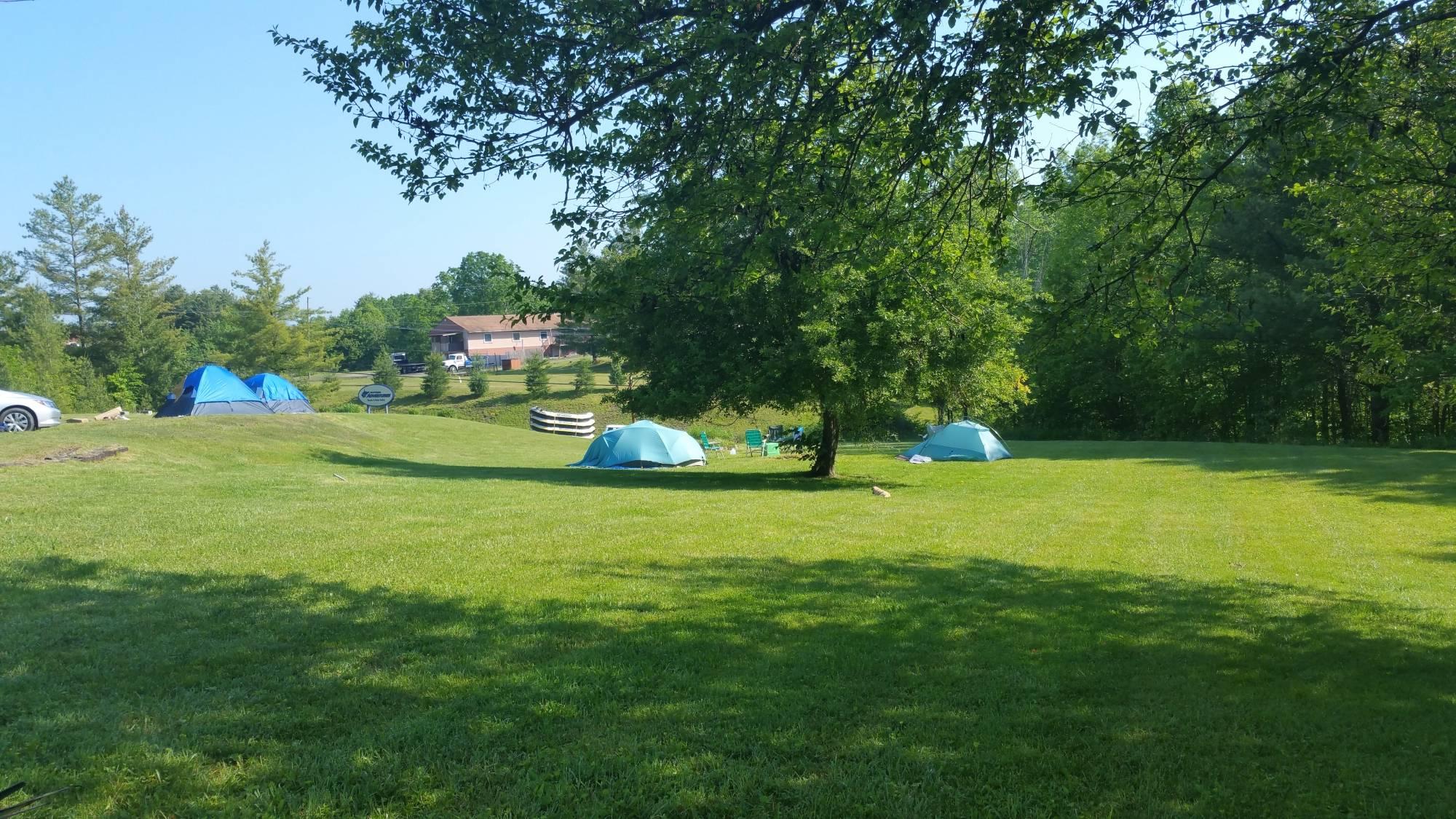 Tent Camping - West Virginia Adventures 800.292.0880