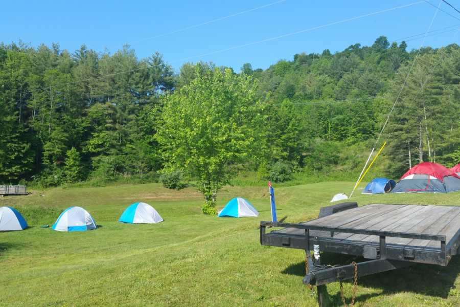 West Virginia Adventures Tent Camping