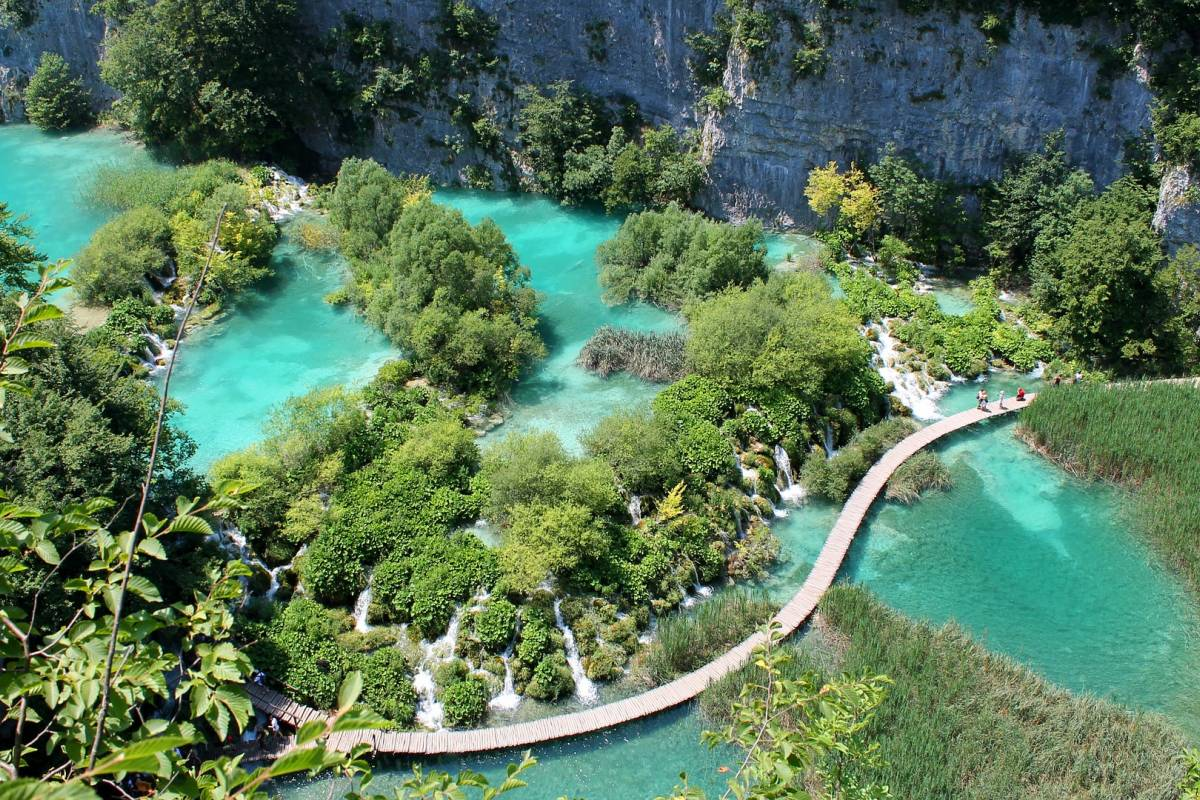 Nature Trips Croatian islands cruise + Land tour with  Plitvice - from Zagreb