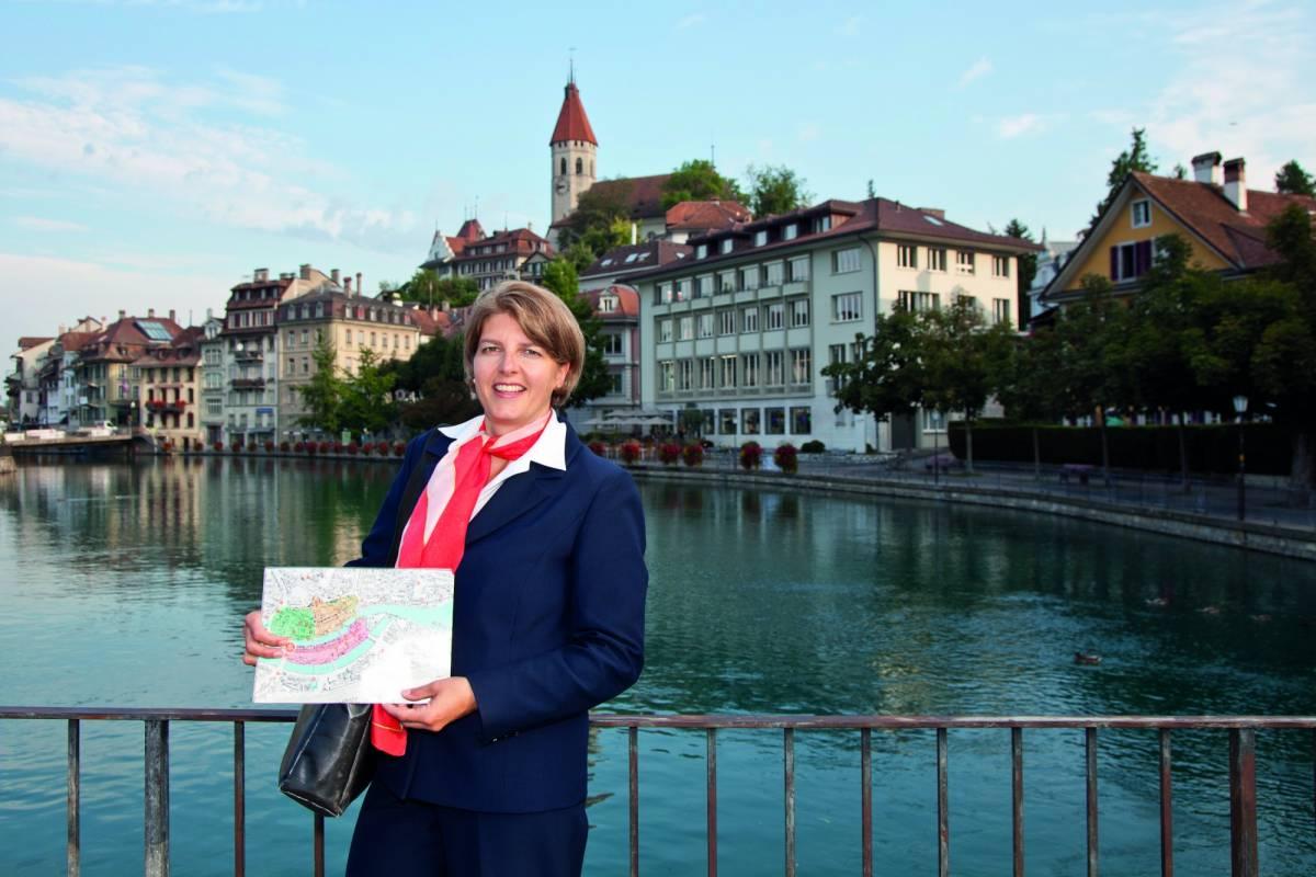 Interlaken Tourismus Altstadtführung Thun