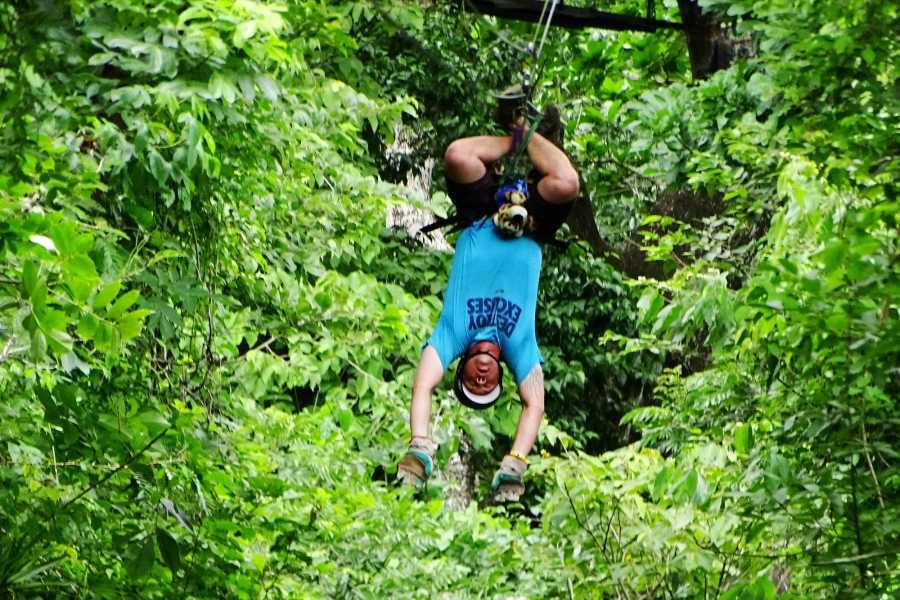 CongoCanopy.com ATV Canopy Zip-Line Combo